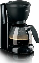 Braun KF560 CafeHouse Kaffeemaschine schwarz