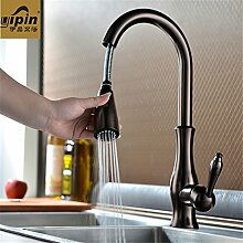 Braun Küche Waschbecken Wasserhahn waschtischmischer heiß und kalt indem europäische Küche Armaturen Küchenarmaturen