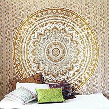 Braun Ombre Mandala Tapisserie Wand Kunst Hangings Hippie Wandteppiche Dorm Decor