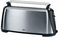 Braun Sommelier HT600 Toaster Edelstahl