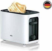 Braun Toaster, 1000W, Arbeitsspeicher, Kontrolle