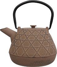 Braune Teekanne aus Gusseisen - Gusseisen - 17 x