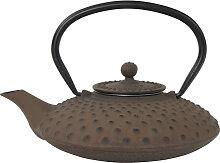 Braune Teekanne aus Gusseisen - Gusseisen - 22 x