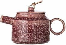 Braune Teekanne aus Stein Joëlle
