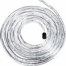 Brauns Heitmann LED-Lichterschlauch Gesamtlänge - 7.50 m, 230 V für außen, 108 warm weiße Dioden, transparentes Kabel, Länge Anschlußkabel 1.50 m 84999