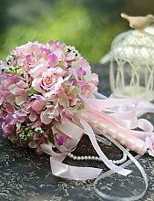 Braut Hochzeit Party Festival Kunstseide