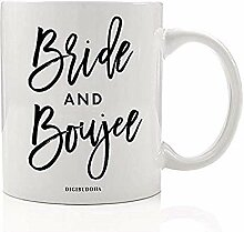 BRAUT UND BOUJEE Bridal Party Favors Becher