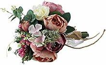 Brautjungfer Hochzeit Blumenstrauß künstliche
