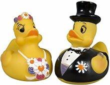 Brautpaar Enten - Badeente - Badespaß mit