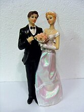 Brautpaar Figur Dekoration aus Keramik