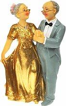 Brautpaar, Hochzeitspaar, Goldhochzeit, Goldene