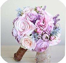 Brautstrauß aus Seide, für Hochzeiten, Garten,