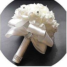 Brautstrauß Brautjungfer Blumen Hochzeit