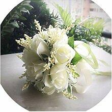 Brautstrauß für Brautjungfern mit Blumen,