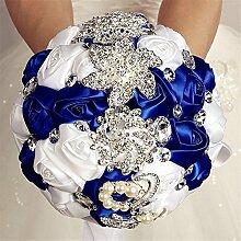 Brautstrauß Handgemachter Diamant Perle Strass
