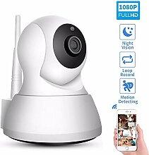 Braveking1 Babyphone Kamera, WLAN IP Kamera mit