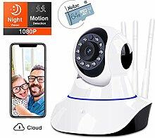Braveking1 WLAN IP Kamera, Babyphone mit Kamera
