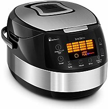Bredeco Multikocher Schnellkochtopf Reiskocher