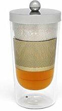 Bredemeijer 165004 Tea-for-one Lucca doppelwandig,