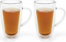 Bredemeijer 165013 Tee- & Kaffeeglas, Glas, 295