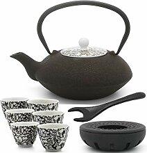 Bredemeijer braune asiatische Teekanne 1.2 L