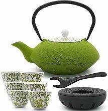 Bredemeijer grüne asiatische Teekanne 1.2 L