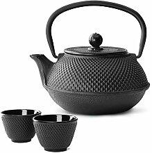 Bredemeijer Teekanne asiatisch Gusseisen Set 0,8