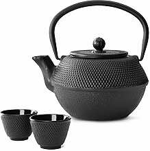 Bredemeijer Teekanne asiatisch Gusseisen Set 1.1