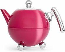 Bredemeijer Teekanne Bella Ronde, pink, Beschläge