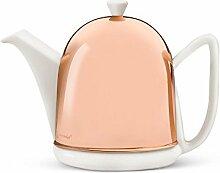 Bredemeijer Teekanne Manto 1,0L, weiß,