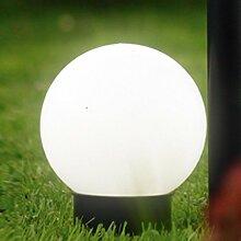 Brema 123138 Kunststoff-Solar-Leuchtkugel mit