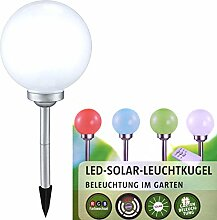 BREMA LED Solarkugel mit Fernbedienung ,Ø 30 cm,