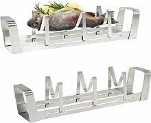 bremermann BBQ – Fischhalter, Fischgriller,