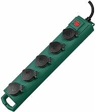 Brennenstuhl 1159910215Steckdosen, grün, 48cm