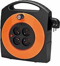 Brennenstuhl Primera Aufwickler, elektrisch, orange, 1091681