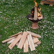 Brennholz aus Lärche in 6 kg Verpackung |