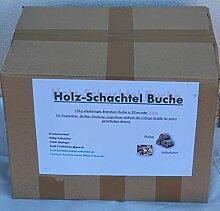Brennholz, Holz-Schachtel Buche 15kg, Scheitlänge