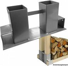 Brennholz Stapelhilfe Holzstapelhalter Kaminholzhalter Feuerholzhalter