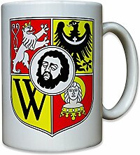 Breslau Polen Schlesien Johannes der Täufer Löwe