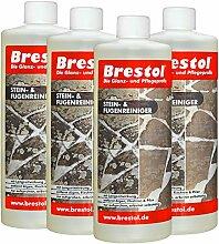 Brestol Stein- & Fugenreiniger 4X 1000 ml