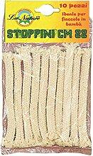 Briancasa Bambusfackel für Gartenfackeln, 22 cm,