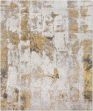 Brick No. 05 Teppich in Silber Rust von Knots Rugs
