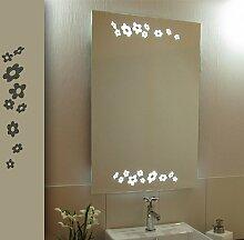 Bricode Süd 50 x 75 LED Lichtspiegel & Badspiegel Duett warmweiß 18W