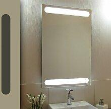 Bricode Süd 50 x 75 LED Lichtspiegel & Badspiegel Librtas warmweiß 18W