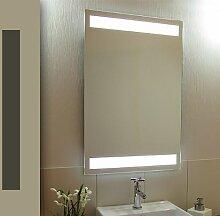 Bricode Süd 50 x 75 LED Lichtspiegel & Badspiegel Tower warmweiß 18W