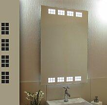 Bricode Süd 50 x 75 LED Lichtspiegel & Badspiegel Vluyn kaltweiß 18W