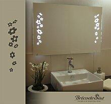 Bricode Süd 75x 50 LED Lichtspiegel & Badspiegel Duett kaltweiß 18W