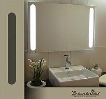 Bricode Süd 75x 50 LED Lichtspiegel & Badspiegel Libertas 18W warmweiß