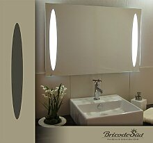 Bricode Süd 75x 50 LED Lichtspiegel & Badspiegel Wild warmweiß 18W