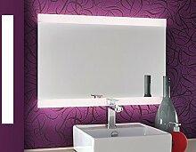 Bricode Süd LED Badspiegel Persis (AQ) Spiegel mit Beleuchtung in Ver. Größen & Lichtfarben (warmweiß, 100 x 60 cm) Bad - Spiegel Made in Germany